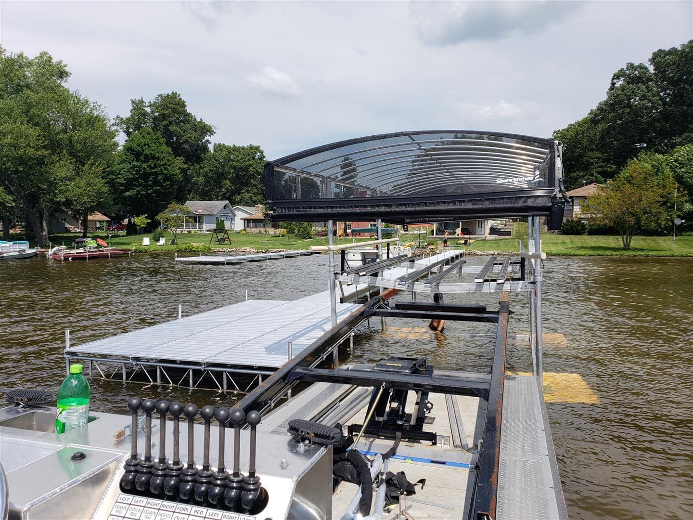 Boat Lifts & Jet Ski Lifts l Shorestation Boat Lift l Pier Perfection